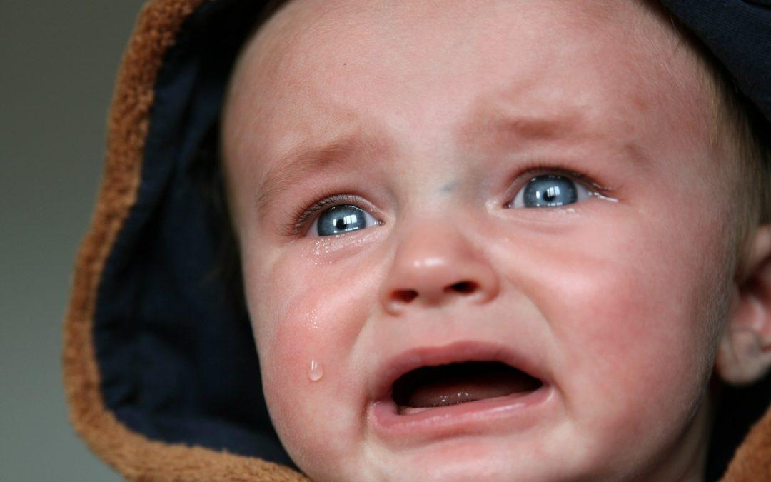 baby huilt borstvoeding